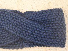 Pandebånd, strikket, men til inspiration