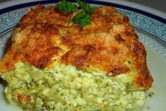 Retete Culinare - Sufleu de broccoli si branza