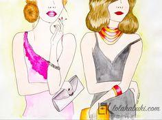 LA BODA #ilustracion, #pintura, #arte, #love