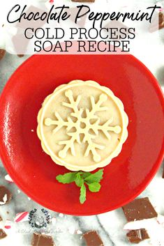This cold process soap turned out perfect as a holiday gift to give to my family! The chocolate and peppermint smelled so good! Some people had to be told that it was soap, and not a cookie! #coldprocesssoap #christmassoap #handmadechristmasgift #diysoap #stockingstuffers #soaprecipes #achickandhergarden Homemade Deodorant, Homemade Skin Care, Homemade Beauty Products, Peppermint Soap, Handmade Christmas Gifts, Christmas Crafts, Cold Process Soap, Soap Recipes, Home Made Soap