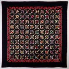 Robbing Peter to Pay Paul Sampler Quilt: Ca. Primitive Quilts, Antique Quilts, Vintage Quilts, Gees Bend Quilts, Quilt Block Patterns, Quilt Pattern, Quilt Blocks, Map Quilt, Wool Quilts