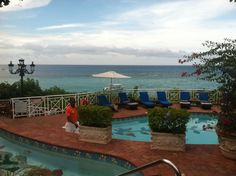 Sandals Royal Plantation, Ochos Rios Jamaica. Beautiful view, great food and the best drinks!