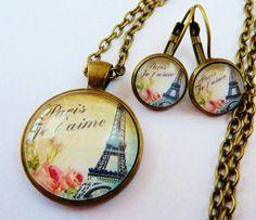 Edles Schmuckset in bronze mit Halskette und von Schmucktruhe, €28.00