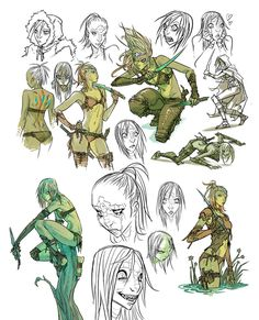 character design Animation Flat is part of Great Flat Character Design Inspiration Examples - Kexilath DnD drawings by mooncalfe deviantart com on Character Design Animation, Fantasy Character Design, Character Creation, Character Design References, Character Concept, Character Inspiration, Character Art, Dnd Characters, Fantasy Characters