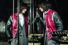 First Look: Lanvin Fall/Winter 2015 Menswear Campaign