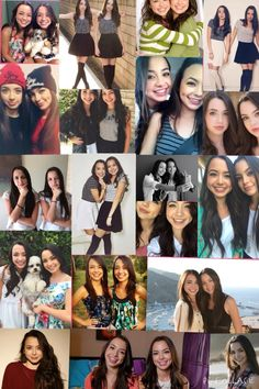 I love the Merrell twins so much Veronica & Vanessa