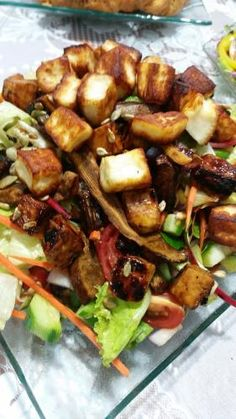 Cooking for Two Healthy Meals For Two, Good Healthy Recipes, Special Salad Recipe, Appetizer Recipes, Salad Recipes, Food Set Up, Easy Recipes For Beginners, Israeli Food, Eggplant Recipes