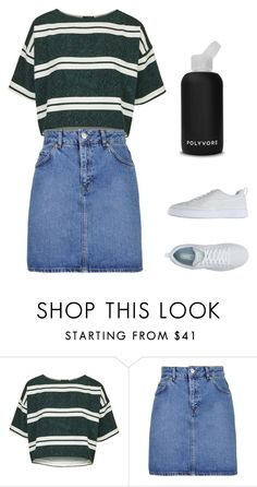 """""""#ContestOnTheGo #ContestEntry"""" by sarahavamarie ❤ liked on Polyvore featuring Topshop, Puma, bkr, contestentry and ContestOnTheGo"""