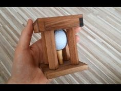 Impossible bolt - through wood trick - YouTube