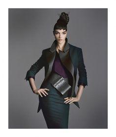 Designing Woman | Mariacarla Boscono | Daniele Duella & Iango Henzi #photography | Bergdorf Goodman Fall 2011