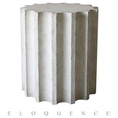 Eloquence® Column Side Table | Kathy Kuo Home
