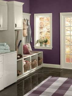 My #1 fave for autumn purples!  Benjamin Moore kalamata AF- 630