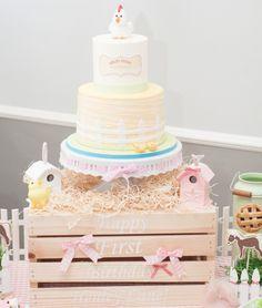 A Gorgeous Farm 1st Birthday Party - Anders Ruff Custom Designs, LLC