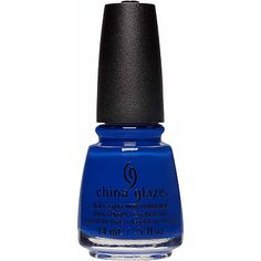 China Glaze Online Only Street Regal Collection Color:Born To Rule (cobalt blue crème)Born To Rule (cobalt blue crème)