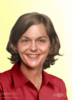 A rendering of what Karen Carpenter would look like were she still alive.