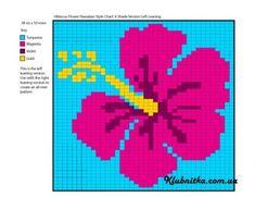 60 Ideas For Knitting Charts Flower Haken Wedding Cross Stitch Patterns, Cross Stitch Borders, Cross Stitch Flowers, Crochet Chart, Love Crochet, Crochet Motif, Knitting Charts, Knitting Patterns, Mochila Tutorial
