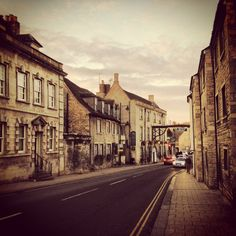 The gorgeous market town of Stamford, less than 8 miles away from the cottage www.puddle-cottage.co.uk