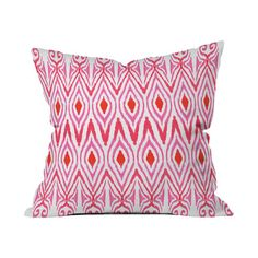 Amy Sia x Deny Designs Ikat Watermelon Throw Pillow available on Joss and Main for a limited time