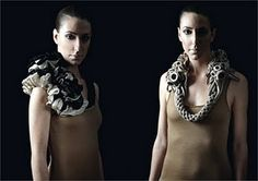 Jessica Schroder knitted jewelry