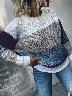 Simple And Georgeus Casual Winter Outfits - My Daily Pins Komplette Outfits, Sweater Outfits, Trendy Outfits, Trendy Fashion, Fall Outfits, Fashion Outfits, Womens Fashion, Fashion Belts, Fashion Stores