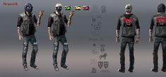Wrench concept art Wrench Watch Dogs 2, Watch Dogs 1, Tag Watches, Cyberpunk Rpg, Dog Boarding, Series Movies, Dog Pictures, Cosplay Costumes, Concept Art