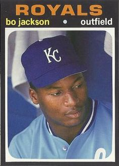 Bo, Kansas City, trading card.