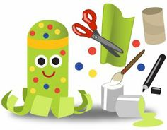 olympics craft ideas for kids | Craft Ideas Toilet Paper Rolls on Octopus Craft Ideas For Kids ...
