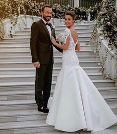 Celebrity Wedding Dresses, Celebrity Weddings, The Dress, Gowns, Actresses, Actors, Celebrities, Instagram, Wedding Ideas