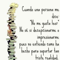 Leer vs. La triste realidad...