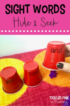 10 FREE Sight Word Games and Activities Looking for new sight word activities for kindergarten or first grade? Click through for 20 activities to do whole group, small group, or independently at centers, so your students never get bored. Teaching Sight Words, Sight Word Practice, First Grade Sight Words, Teaching Phonics, E Learning, Blended Learning, Kindergarten Activities, Kindergarten Sight Word Games, Literacy Centers