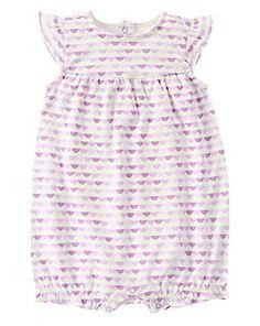 0cb477713821 Scallop Geo One-Piece Newborn Girl Outfits