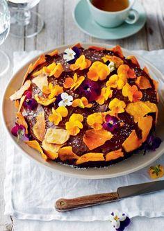 Con la cantidad justa de dulce: un pastel festivo que no está lleno de mantequilla y azúcar.