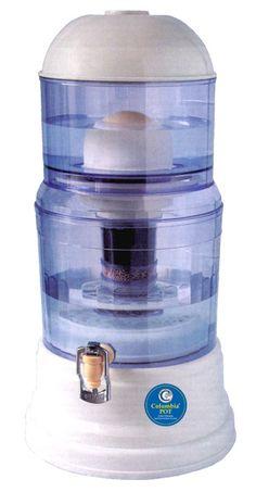 Το Columbia Pot Water Filtration & Purification System της Camelot μας δίνει καθαρό υγιεινό νερό που πρέπει να πίνει ο καθένας από εμάς. Το νερό στο Columbia Pot φιλτράρεται από 5 στάδια υψηλής τεχνολογίας.
