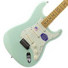 2014 Fender American Deluxe Stratocaster V Neck, Surf Green | Available at Garrett Park Guitars | www.gpguitars.com