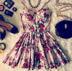 $24.00 | Retro fashion printed Shoulder strap dress  9064528