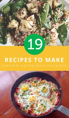 19 Recipes to Make Eating During Passover Enjoyable
