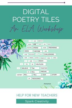 Want to introduce your high school ELA students to Amanda Gorman's poetry? Follow this step-by-step lesson plan and finish with a fun digital poetry project. #poetryactivities #iteachela