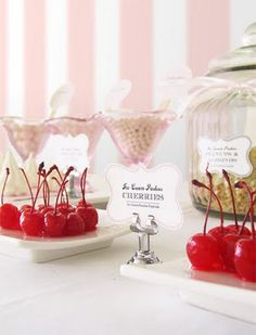 i heart: old fashioned ice cream parlour party