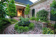 Popular of Southern Landscaping Ideas 15 Ideias para paisagismo com Bricks Home Design Lover
