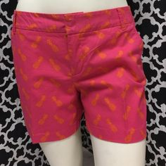 """Selling this """" Pink w/pineapples Shorts"""" in my Poshmark closet! My username is: cindyciara. #shopmycloset #poshmark #fashion #shopping #style #forsale #Caslon #Pants"""