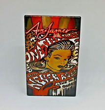 Ami James Tattoo Style #6 Plastic Push-To-Open King Size Cigarette Case