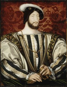 Clouet Jean (1475/85-1540), François Ier, roi de France; huile sur bois, 96x74 cm | Paris, musée du Louvre