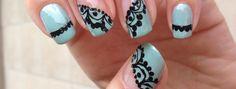 Wedding nail art tutorial | Delightful Little Things