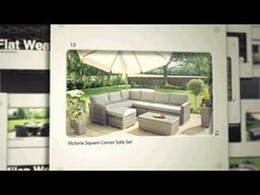 Garden Furniture 2014 Uk new huge chloe luxury rattan garden furniture patio - http://news