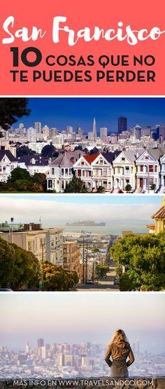 [GUÍA] Qué hacer, qué visitar, dónde alojarse, qué comer... guía completa en San Francisco. #SanFrancisco #GuiaSanFrancisco #EstadosUnidos #California