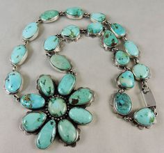 Robins egg blue turquoise set in sterling silver by designed to the stars, Federico Jimenez.