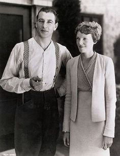 Gary Cooper and Amelia Earhart