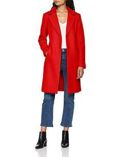 khujo Manteau Parka Femme rouge X Small: