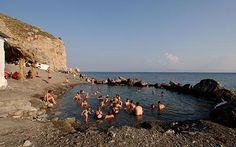hot springs in kos, greece. wonderful place to visit!