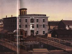 N.C. Thompson's Reaper Works sold to the  the Woodward Governor Company in 1893.